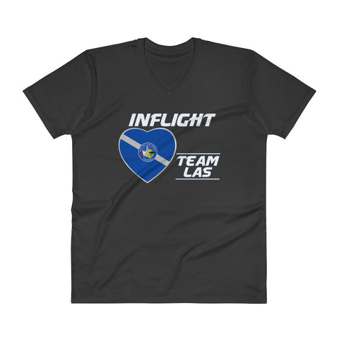 SWA - InFlight – Team LAS Men's Deep V T-Shirt
