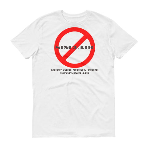 Stop Sinclair Broadcast Group - Short-Sleeve T-Shirt