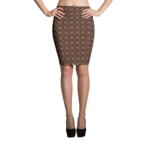 "Louis Trez ""Classic"" by Street Jammz - Pencil Skirt"