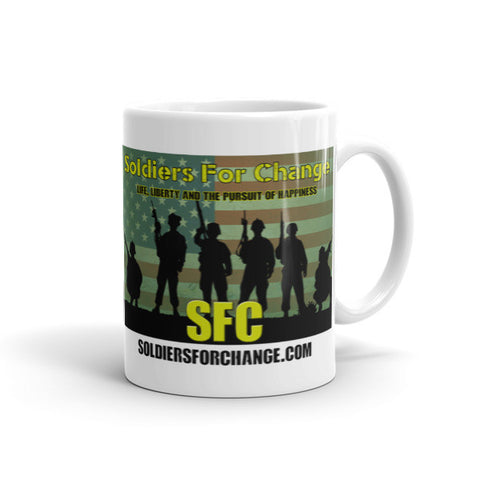 Soldiers For Change - Square Logo - Mug