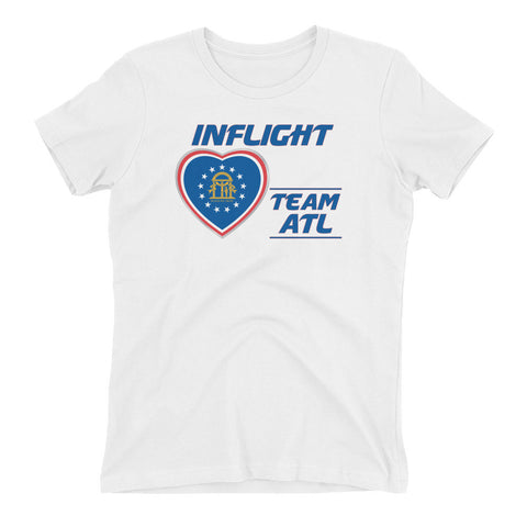 SWA - InFlight - Team ATL Women's Boyfriend Tee