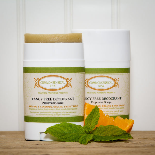 Fancy Free Deodorant in Peppermint Orange