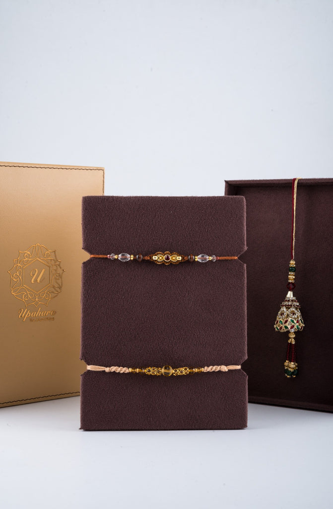 Luxuré Tan Rakhi Gift Box - Supreme - Upahara - 3
