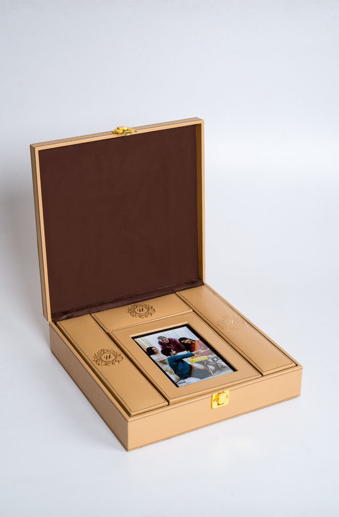 Luxuré Tan Rakhi Gift Box - Supreme - Upahara - 2