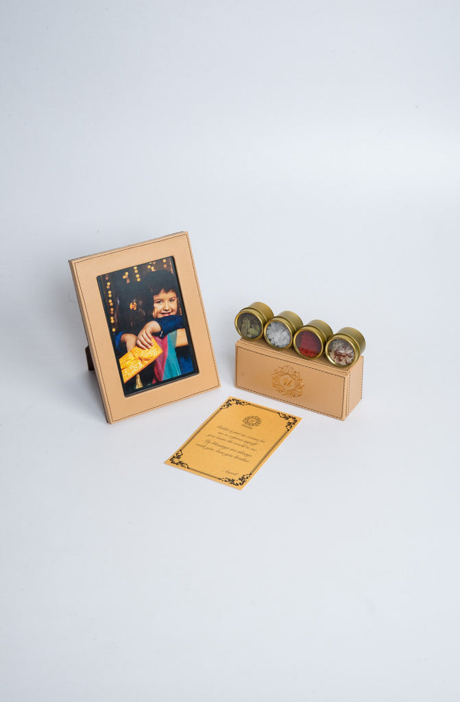 Luxuré Tan Rakhi Gift Box - Supreme - Upahara - 5