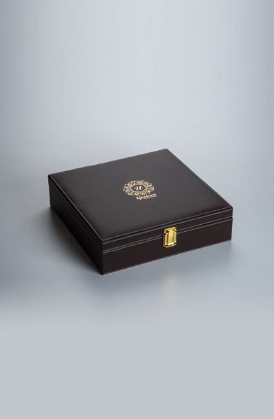 Luxuré Brown Rakhi Gift Box - Supreme - Upahara - 1