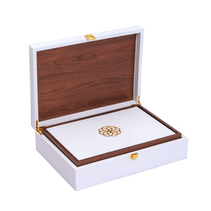 Luxure Rakhi Gift Box - Ivory - Highline