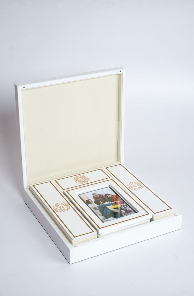 Beaumonté White Rakhi Gift Box - Supreme - Upahara - 3
