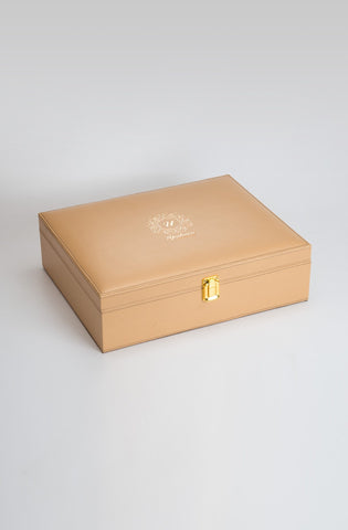 Luxuré Tan Rakhi Gift Box - Highline - Upahara - 1