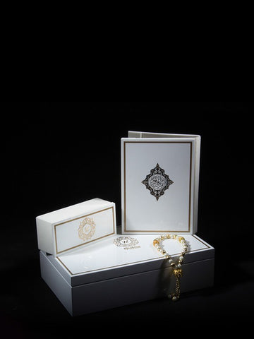 Beaumonté Eid Gift Box - Minimal - White - Upahara - 1