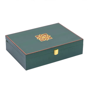 Luxure Rakhi Gift Box - Emerald - Highline