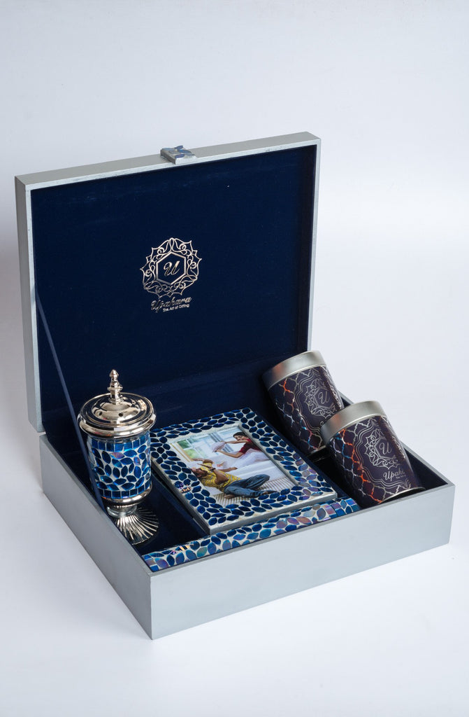 Montagé Blue Rakhi Gift Box - Highline - Upahara - 3