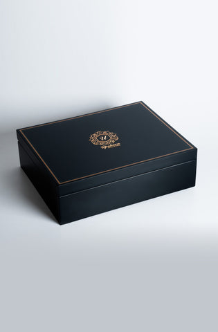 Beaumonté Black Rakhi Gift Box - Highline - Upahara - 2