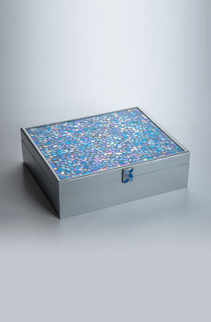 Montagé Blue Rakhi Gift Box - Highline - Upahara - 2