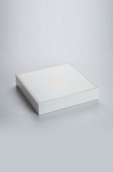 Beaumonté White Rakhi Gift Box - Supreme - Upahara - 2
