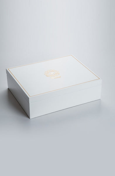 Beaumonté White Rakhi Gift Box - Highline - Upahara - 2