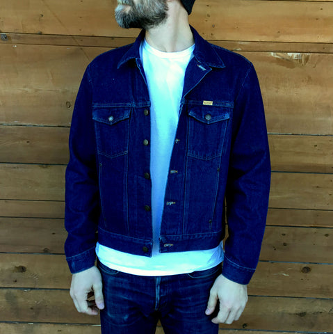 L - Vintage 1970's Rustler Denim Jacket