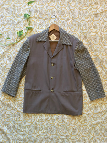 vintage 40s two tone hollywood jacket