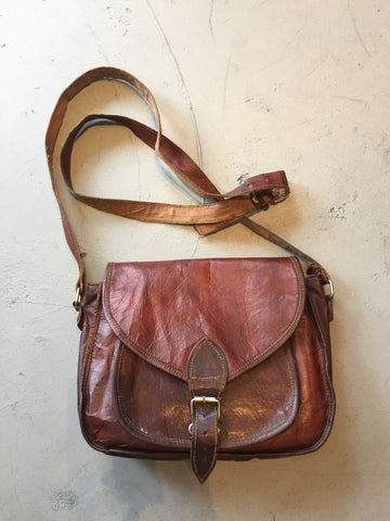 "Vintage 1970's ""Leather"" Bag"