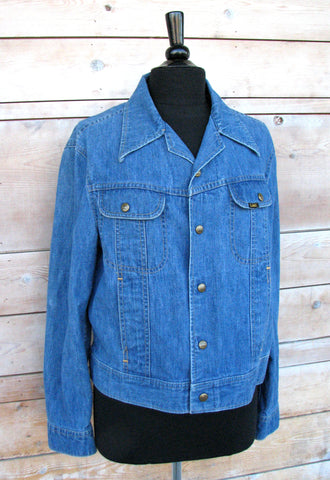 M - Vintage 1970's Lee Denim Jacket