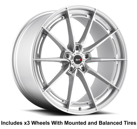 "Savini SV-F1 Slingshot 20"" Super Wide Rear (345 or 335) Wheel and Tire Package - Rev Dynamics"