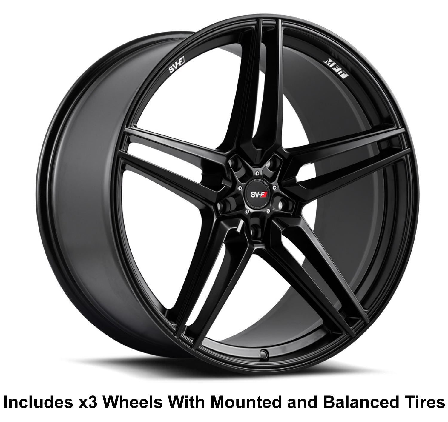 "Savini SV-F3 Slingshot 20"" (305 Rear) Wheel and Tire Package - Rev Dynamics"
