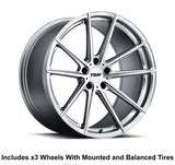 "TSW Bathurst 20"" Slingshot Wheel and Tire Package"