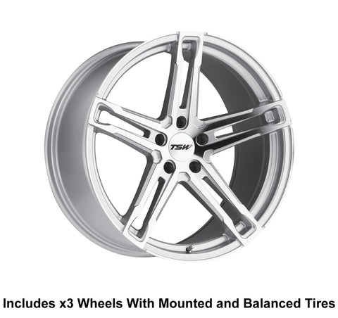 "TSW Mechanica 20"" Slingshot Wheel and Tire Package - Rev Dynamics"