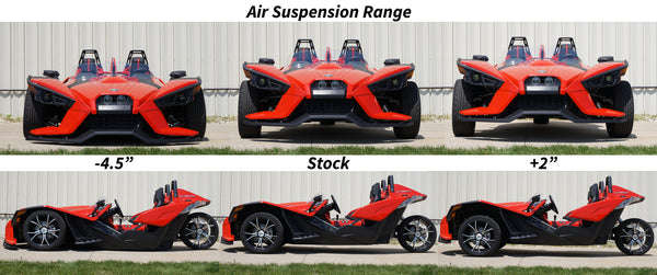 Polaris Slingshot Air ride suspension