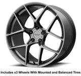 "American Racing Crossfire Slingshot 20"" Wheel and Tire Package - Rev Dynamics"