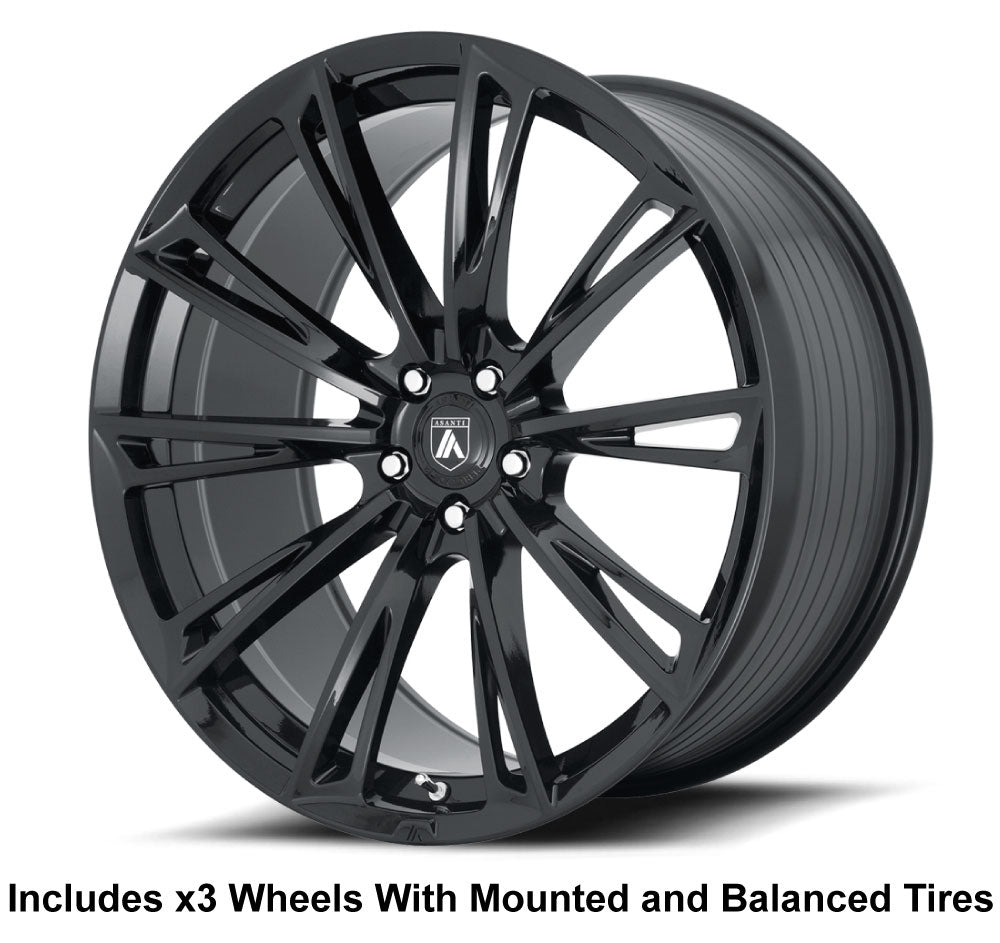 "Asanti ABL-30 Slingshot 22"" Wheel and Tire Package"