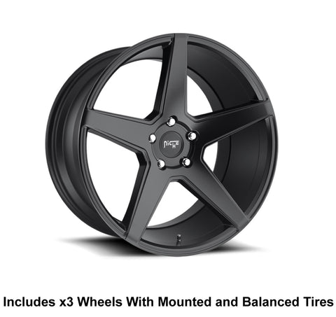 "Niche Carini Slingshot 20"" Wheel and Tire Package - Rev Dynamics"