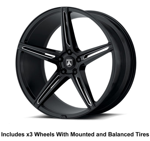 5 Spoke wheels for polaris slingshot