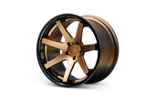 "Ferrada FR1 Slingshot 20"" Front 22"" Rear Wheel and Tire Package"