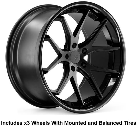 "Ferrada FR2 Slingshot 20"" Wheel and Tire Package"