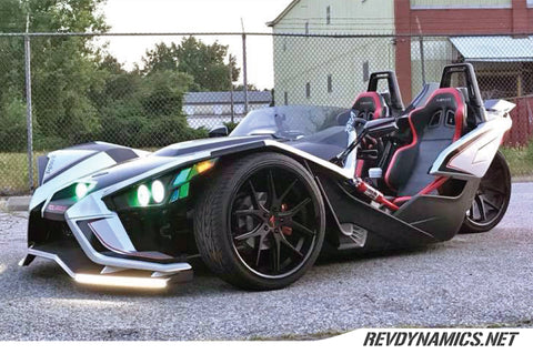 "Ferrada FR2 Slingshot 22"" Wheel and Tire Package - Rev Dynamics"