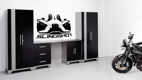 Polaris Slingshot Vinyl Wall Decal - Rev Dynamics