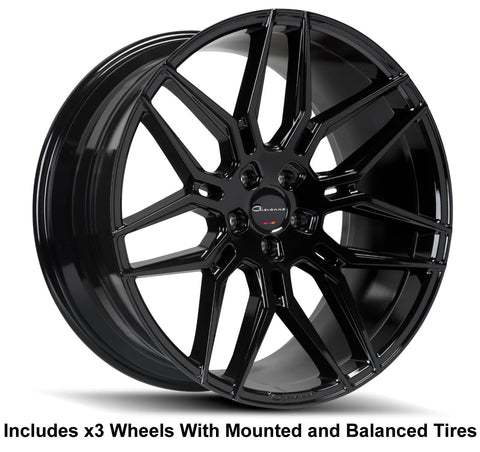 "Giovanna Bogota Slingshot 22"" Wheel and Tire Package"