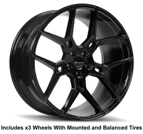 "Giovanna Haleb Slingshot 22"" Wheel and Tire Package"