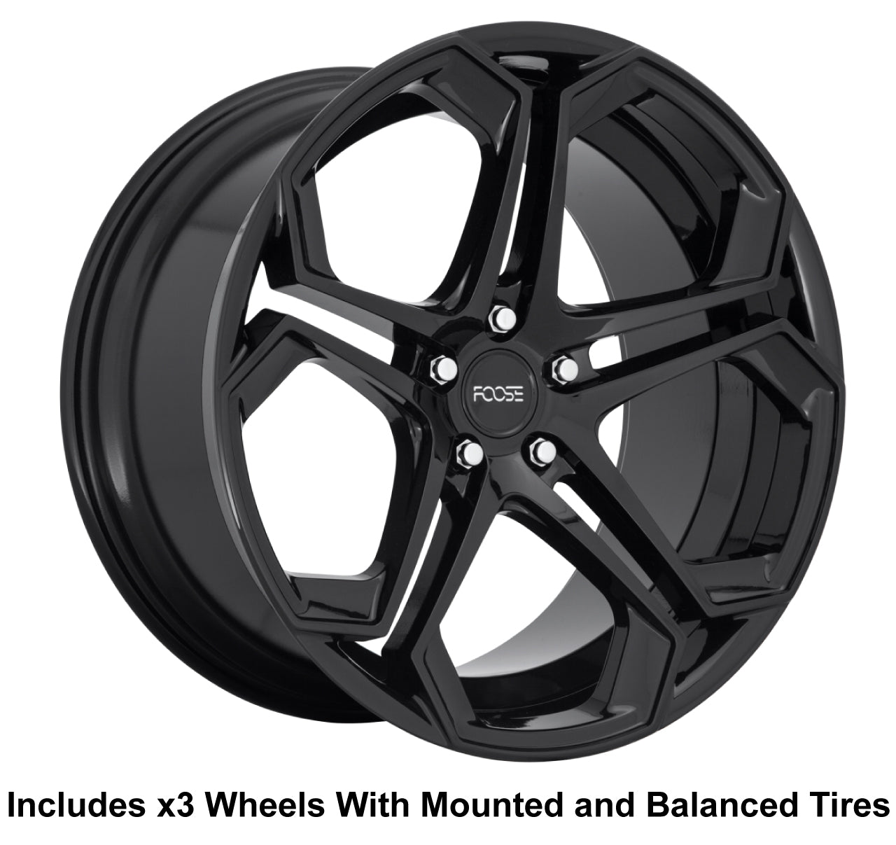 "Foose Impala Slingshot 20"" Wheel and Tire Package"