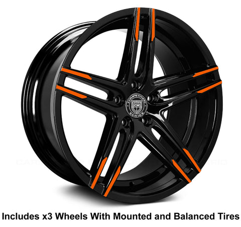 "Lexani Bremen 20"" Wheel and Tire Package"