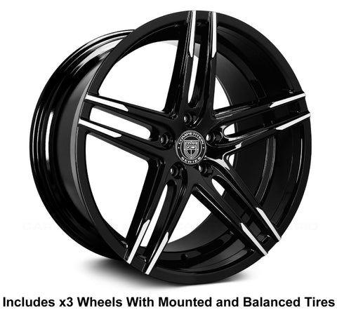 "Lexani Bremen 20"" Wheel and Tire Package - Rev Dynamics"