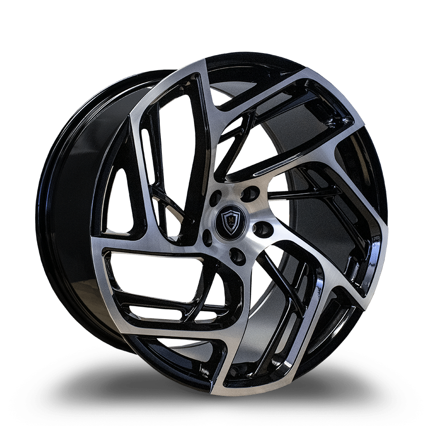 "Marquee m1002 Slingshot 20"" Wheel and Tire Package - Rev Dynamics"