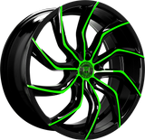"Lexani Matisse Slingshot 22"" Wheel and Tire Package"