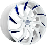 "Lexani Matisse Slingshot 22"" Wheel and Tire Package - Rev Dynamics"