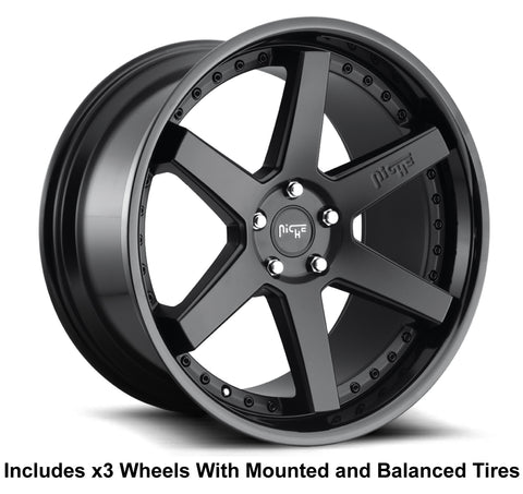 Polaris slingshot wheel and tire package