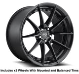 "Niche Sector 20"" Slingshot Wheel and Tire Package - Rev Dynamics"