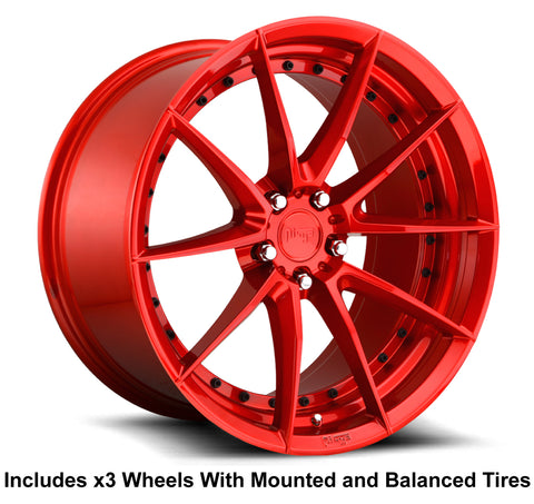 "Niche Sector 20"" Slingshot Wheel and Tire Package"