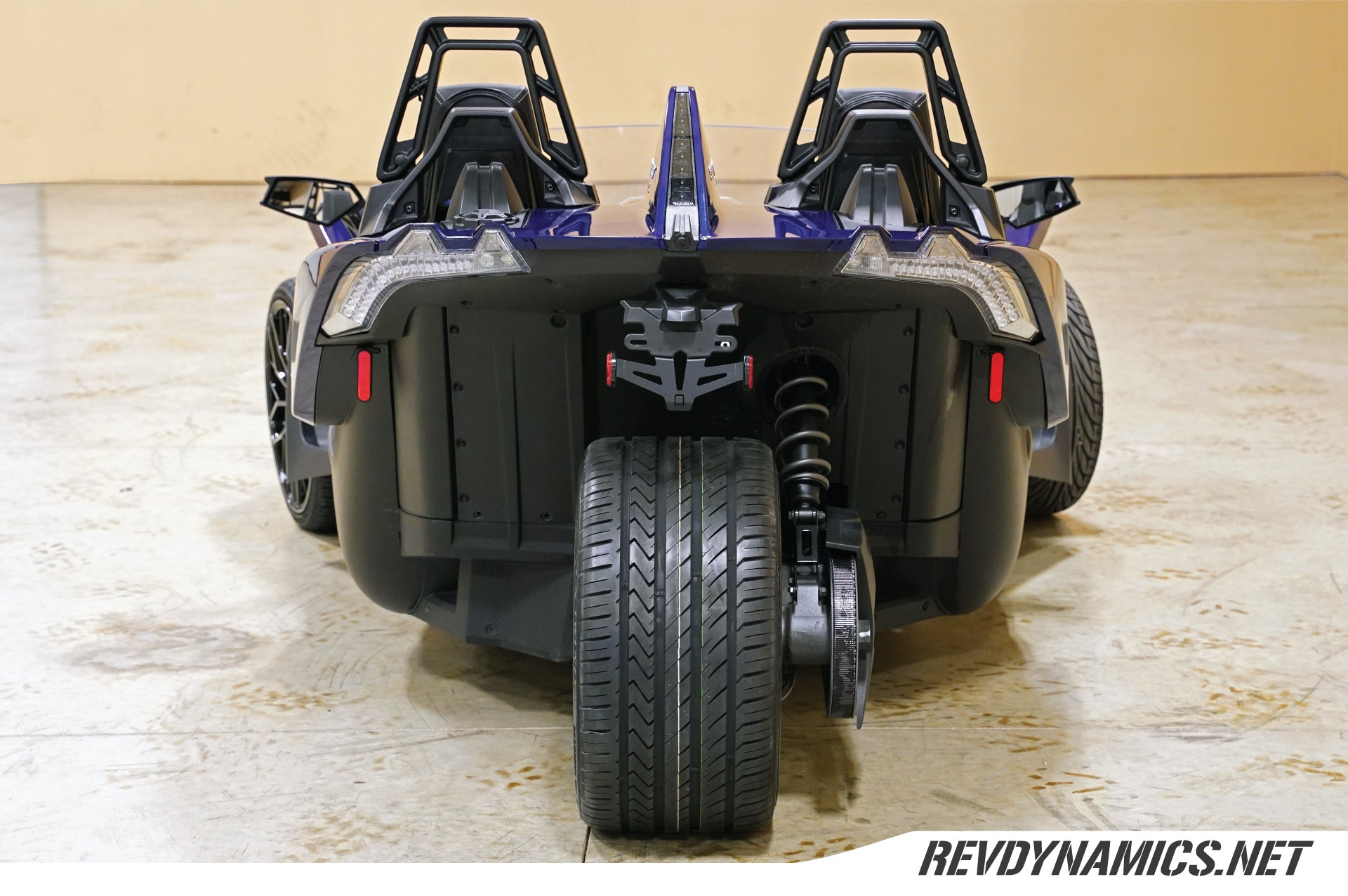 "Savini SV-F2 Slingshot 20"" Super Wide Rear (345 or 335) Wheel and Tire Package - Rev Dynamics"
