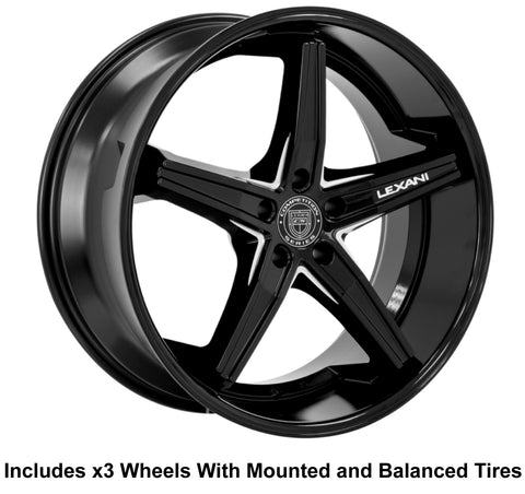 "Lexani Fiorano Slingshot 22"" Wheel and Tire Package - Rev Dynamics"